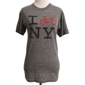 I Bike New York NY Tee Shirt Graphic T-Shirt S